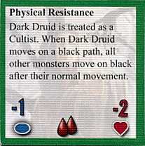 Dark Druid monster marker back